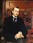 Vlaho Bukovac - Portrait of Dr. Stjepan Miletic