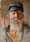 Vlaho Bukovac - Portrait of the Artist's Father