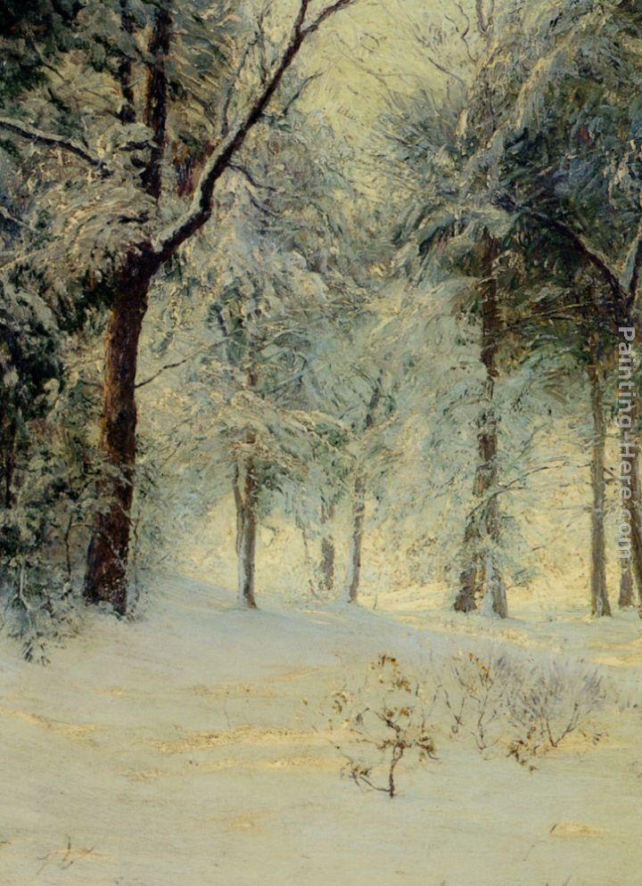 Walter Launt Palmer Sunshine After a Snowstorm
