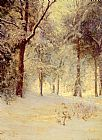 Walter Launt Palmer Sunshine After Snowstorm painting