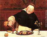 Walter-Dendy Sadler - The Monk's Repast