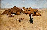 Willard Leroy Metcalf - Arab encampment, Biskra