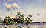 Willem Bastiaan Tholen - A Farm On The Waterfront, The Kaag