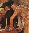 Willem Buytewech - Merry Company (detail)