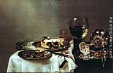 Willem Claesz Heda - Breakfast with Blackberry Pie
