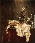 Willem Claesz Heda - Ham and Silverware