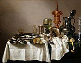 Willem Claesz Heda - Still Life with a Gilt Goblet