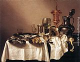 Willem Claesz Heda - Still-life with Gilt Goblet