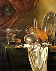 Willem Kalf - Still Life with Chafing Dish