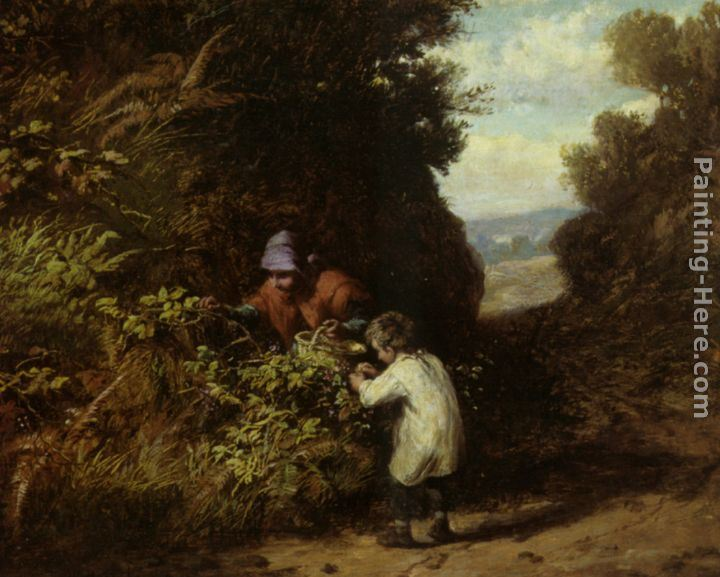 William Bromley III The Blackberry Gatherers