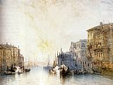 William Callow The Grand Canal, Venice painting