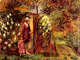 William Glackens - Two In A Garden