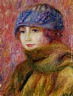 William Glackens - Woman In Blue Hat