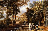 William Havell - Garden Scene On The Broganza Shore, Rio De Janeiro
