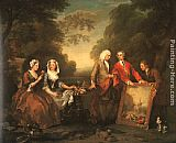 William Hogarth - The Fountaine Family