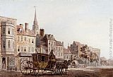 Famous Horse Paintings - A Coach And Horse Entering York