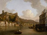 William Marlow - View of the Chateau de Pierre Encise on the Rhone Lyon