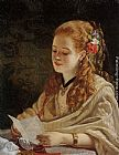 William Maw Egley - The Letter
