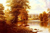 William Mellor - Bolton Abbey, From The Wharfe, Yorkshire