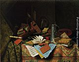 William Michael Harnett - A Study Table