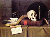 William Michael Harnett - Memento Mori - To This Favour