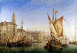 William Wilde - The Doge's Palace From The Entrance To The Grand Canal