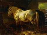 Wouter Verschuur - Feeding the Horses in a Stable