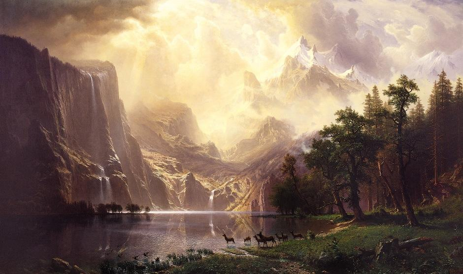 Albert Bierstadt Famous Paintings
