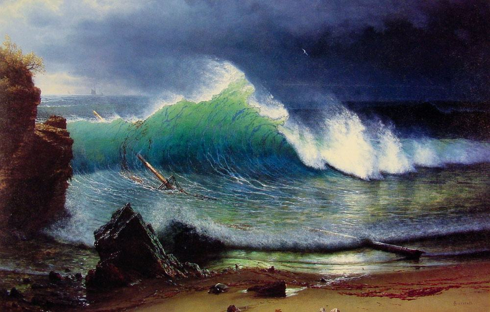 Albert Bierstadt Canvas Paintings