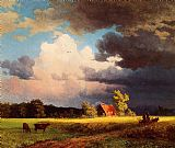 Albert Bierstadt Famous Paintings - Bavarian Landscape