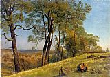 albert bierstadt Canvas Paintings - Landscape Rockland County California
