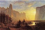 Famous Park Paintings - Yosemite Valley Yellowstone Park