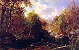 Albert Bierstadt Canvas Paintings - The Emerald Pool