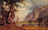 Albert Bierstadt Canvas Paintings - Yosemite Valley