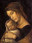 Famous Madonna Paintings - Madonna with Sleeping Child