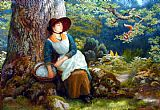 Arthur Hughes - Asleep in the Woods