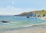 Arthur Hughes - Perran Point Cornwall