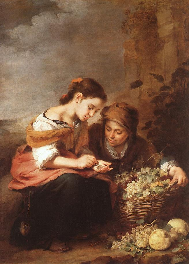 Bartolome Esteban Murillo The Little Fruit Seller