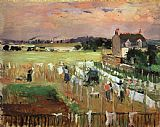Berthe Morisot - Hanging out the Laundry to Dry