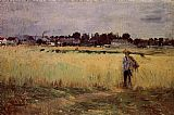 Berthe Morisot - In the Wheat Fields at Gennevilliers