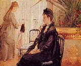 Interior Canvas Paintings - Interior Morisot