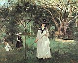 Berthe Morisot - The Butterfly Chase