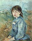 Berthe Morisot - The Little Girl from Nice