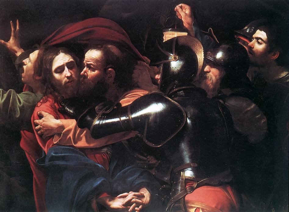 Caravaggio Taking of Christ