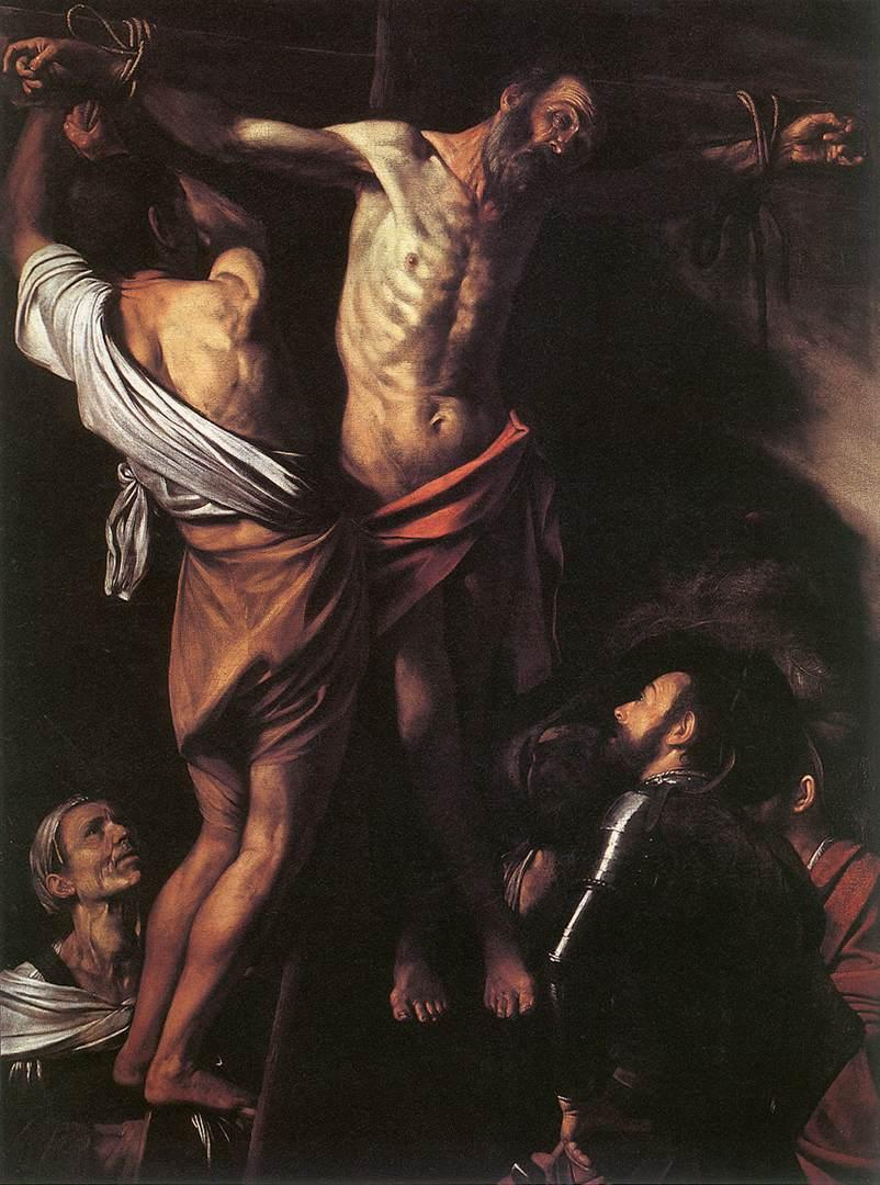 Caravaggio The Crucifixion of St. Andrew