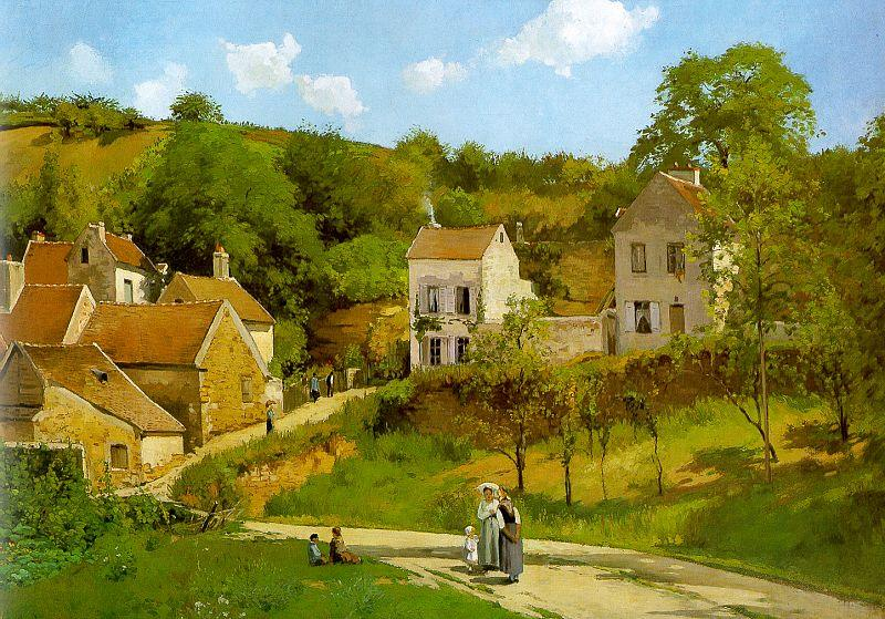 Camille Pissarro The Hermitage at Pontoise