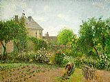 Famous Artist Paintings - The Artist's Garden at Eragny