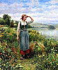 Famous Field Paintings - A Field of Flowers