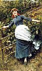 Daniel Ridgway Knight - A Summer's Folly