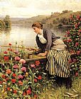 night Canvas Paintings - Daniel Ridgway Knight